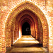 Quarr Abbey cloister by Lawrence OP