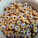 What cute critters these Cheerios are!
