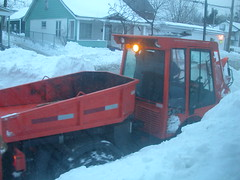 vehicle, transport, snow, snow removal, light commercial vehicle,