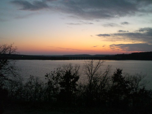 park trip sunset lake oklahoma nature landscape outdoors cabin state ok tenkiller bigluke