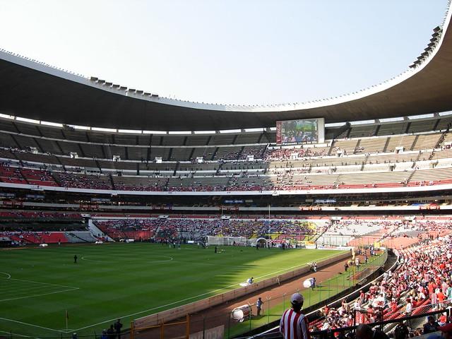 Estadio azteca iii guilermo ca edo flickr photo sharing for Puerta 1 estadio azteca