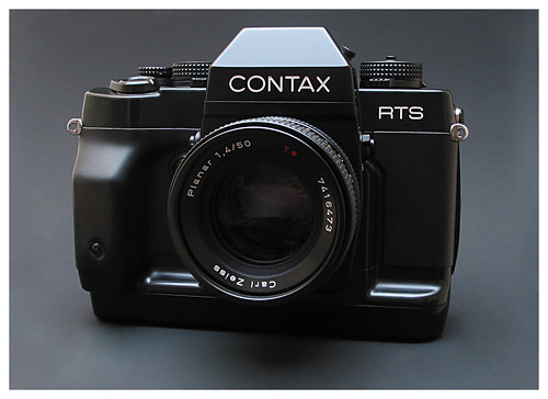 Contax RTS-3 with CZ Planar 1.4/50mm