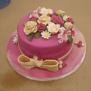 Wilton cake final for Fondant and Gumpaste.