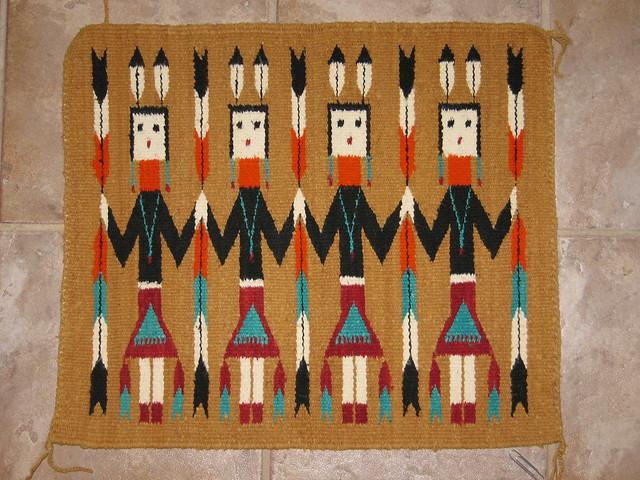 Yei Bi Chai Yay Ba Chay Navajo Weaving Gift From A