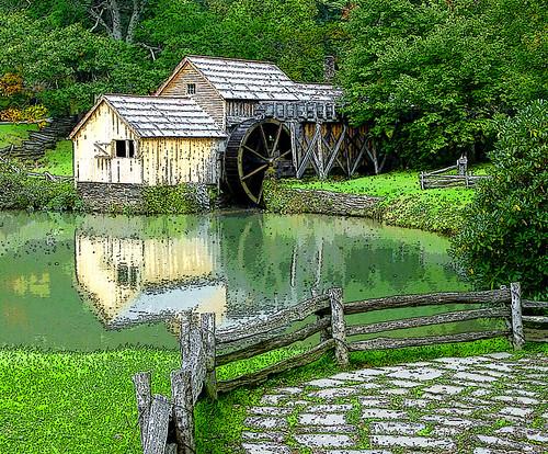Mühlen fence