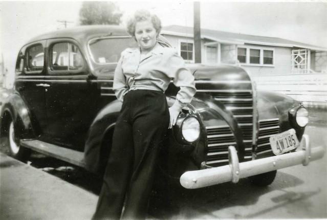Californa Girl, June 1948