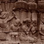 Relief - Angkor, Cambodia