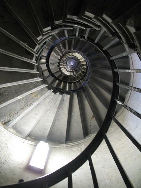 Monument Spiral - Looking Up