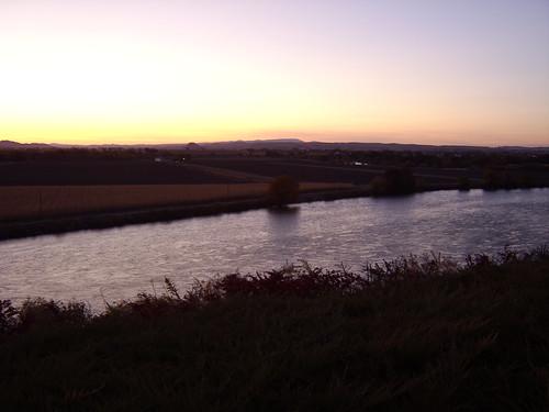 sunset nature oregon river 2006 idaho