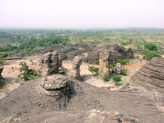 Be amazed at the Sindou Rock Formations - Things to do in Ouagadougou