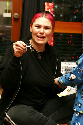 rachel 'borrowed' this bracelet so often, her mom gave it to her    MG 7381