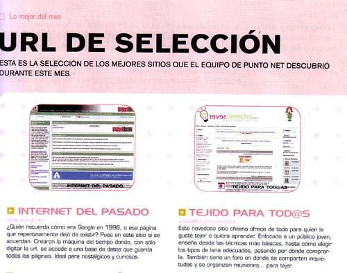 Revesderecho salió en la revista Punto Net!! :D