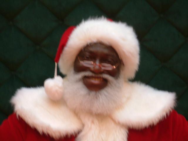Black santa flickr photo sharing