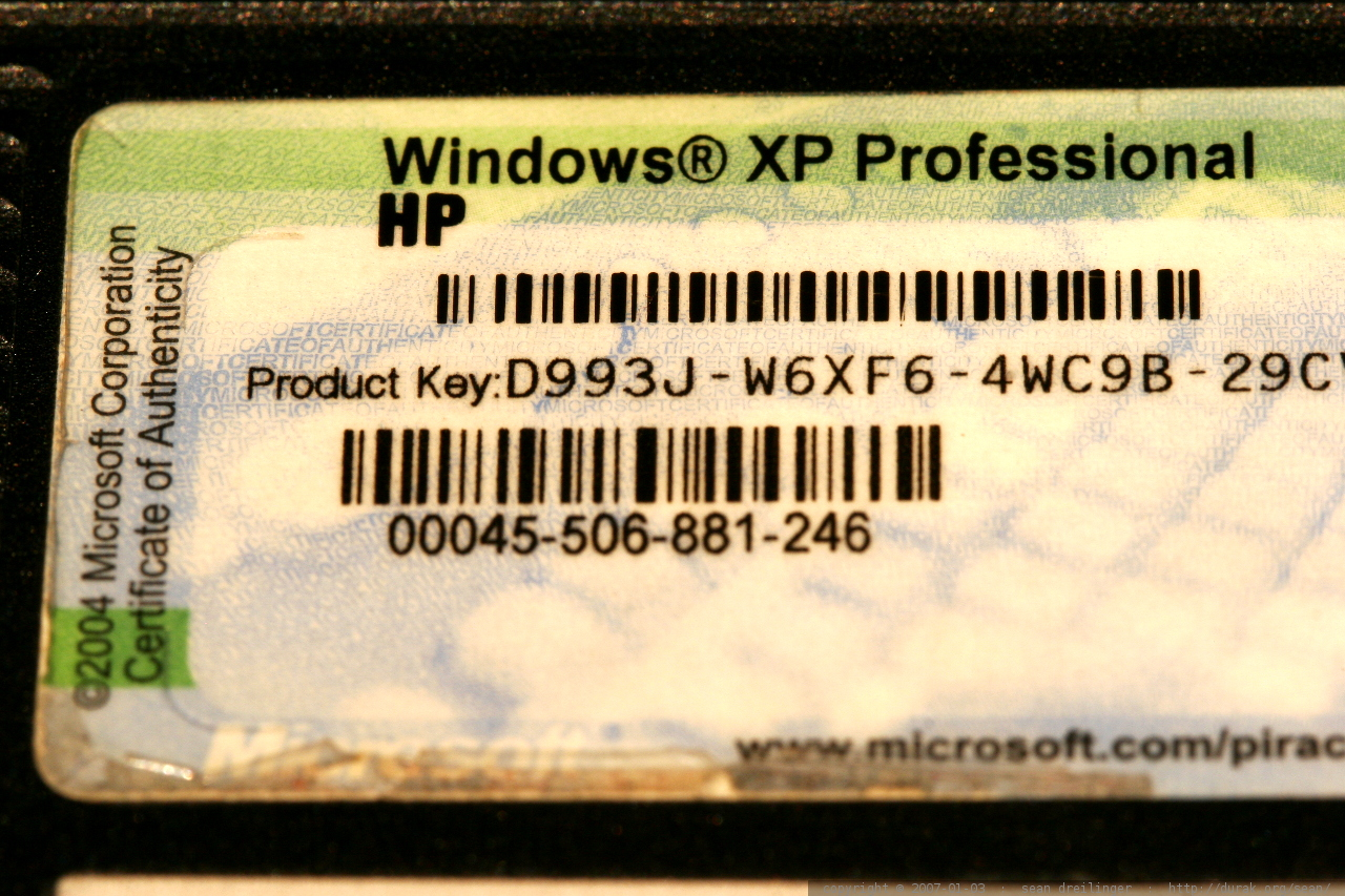 how to buy windows xp product key