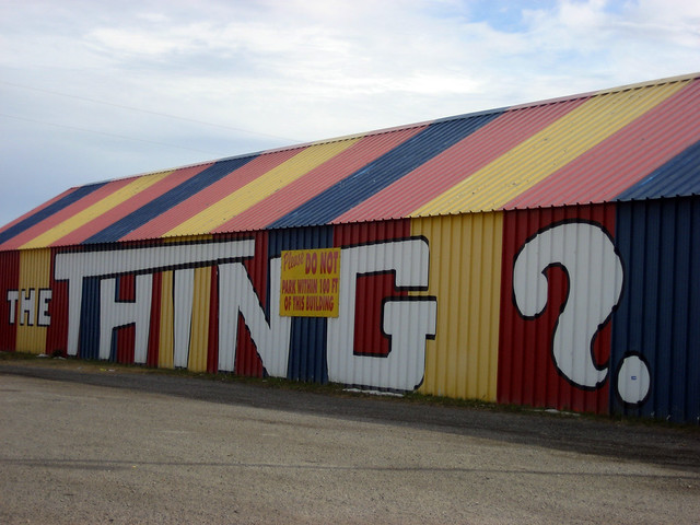 The Thing in Dragoon, Arizona by Flickr user drcohen