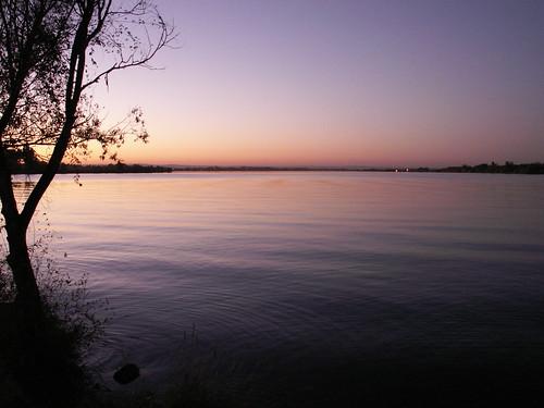 sunset lake water landscape purple wa moseslake ambrosiacaching