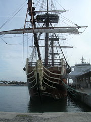 sailing ship, schooner, vehicle, east indiaman, ship, training ship, full-rigged ship, mast, tall ship, watercraft, boat, galleon,