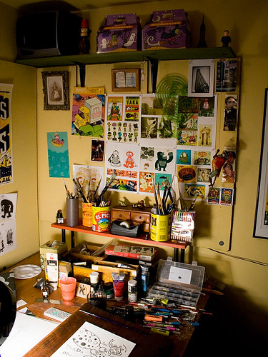 Artists studios - Home art studio ...