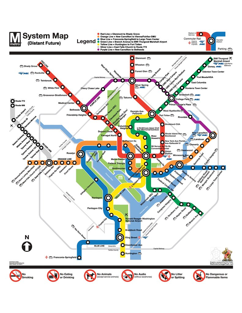 Dc Metro Map Green Line.For I Dipt Into The Future The Future Of Metro After Th Flickr