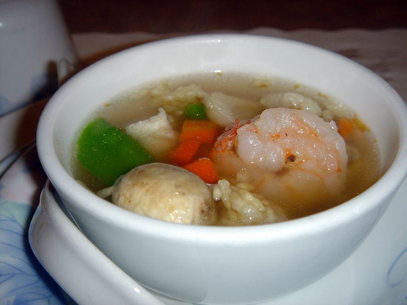 Shrimp Sizzling Rice Soup Www Picsbud Com