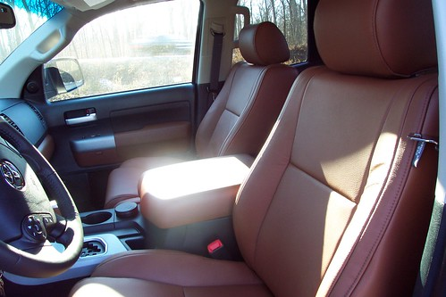 red rock leather interior toyota tundra forums tundra