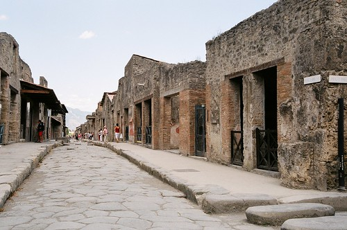 Pompeii - shopping street