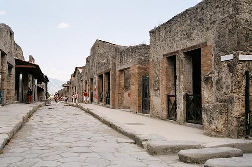 Pompeii - shopping street
