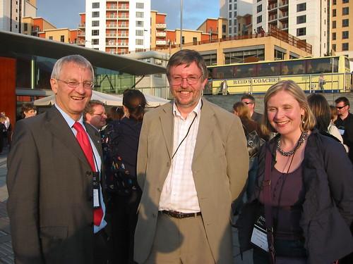 Graham Berry (Scotland), Peter Tyndall (Wales) and Noirín McKinney (Northern Ireland)