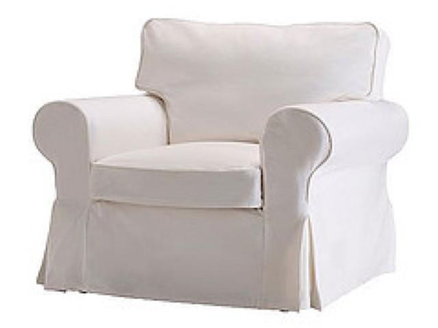 Ikea Ektorp Armchair Chair Slipcover Blekinge White