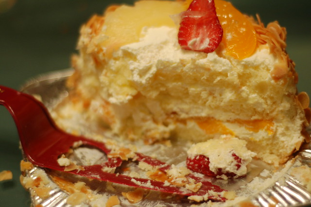 Images Of Eaten Birthday Cake : Half Eaten The birthday cake was immediately set upon by ...