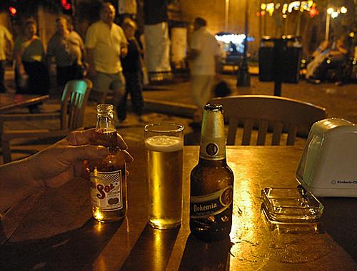Corazon de Merida con cerveza