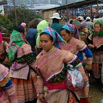Market Ladies - Bac Ha, Vietnam