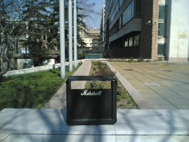 Photo:the empty amp By lukatoyboy