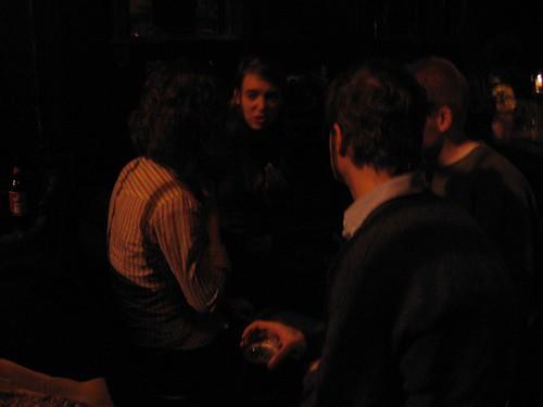 talking in the dark in brooklyn by Amy, on Flickr