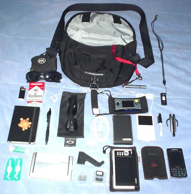 Timbuk2 Metro and its, Sony DSC-U30