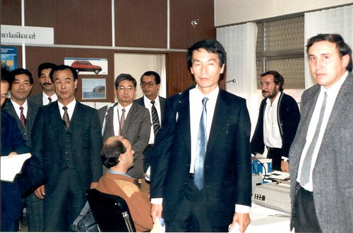 Visita de delegación japonesa a CERED-HEGAKA