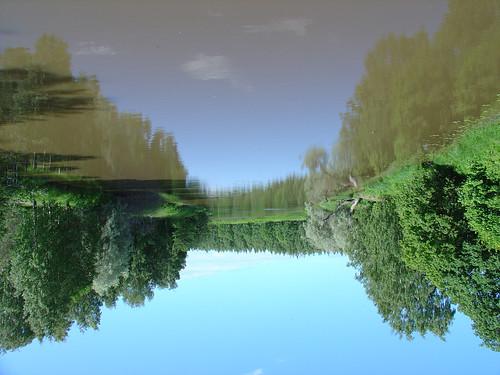 reflection nature water suomi finland river landscape upsidedown scoreme31 aplusphoto superbmasterpiece favemegroup4 diamondclassphotographer flickrdiamond himom021