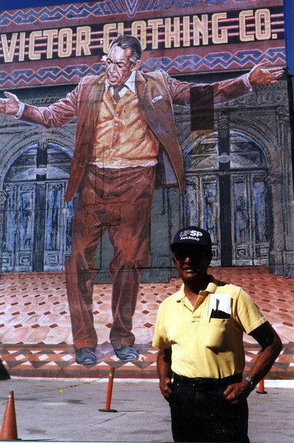 The pope of broadway anthony quinn by eloy torrez for Anthony quinn mural