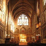 Keble College chapel interior