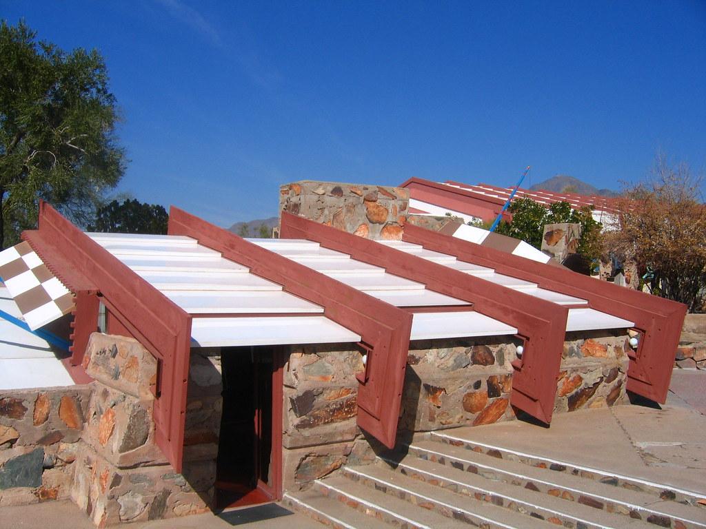 Petra dura architettura e contorni taliesin west in for Architettura wright