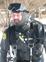 diving equipment, dry suit,