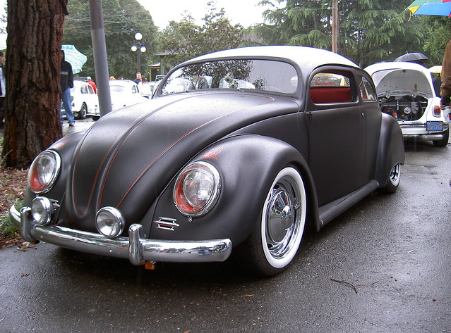 VW Bug chop-top custom