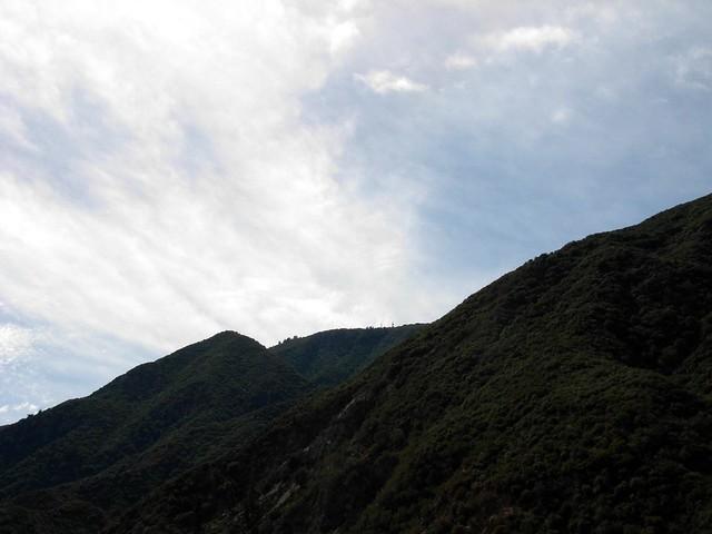 Toward Stone Canyon