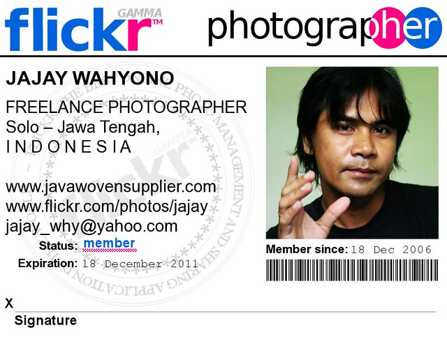 My Id Card Flickr Photo Sharing