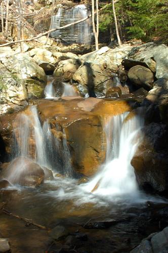 landscape scenery waterfalls