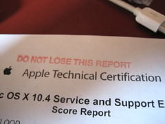 22 03 07 - Apple Technical Certification