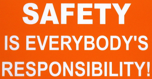 Safety is Everybody's Responsibility!