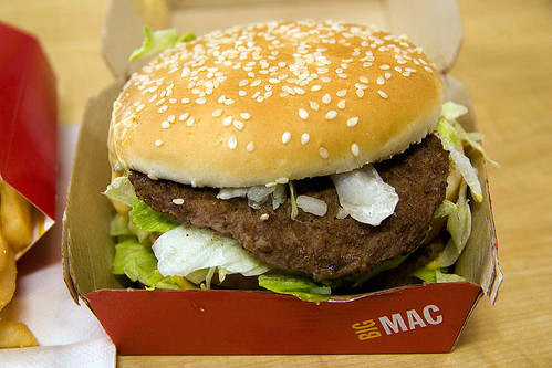 Big Mac at McDonalds