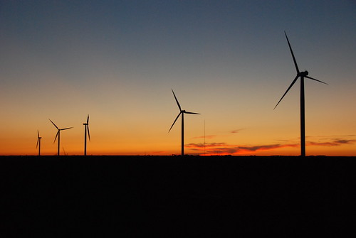 sunset windmill wind iowa jefferson greene turbine hilltop hardin