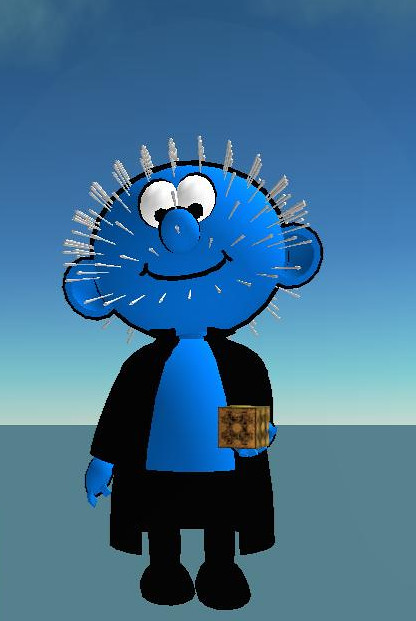 Beware Pinheaded Smurfs with Coffee